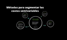 Copy of Métodos para segmentar los costos semivariables
