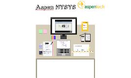Aspen HYSYS Simulación procesos quimicos