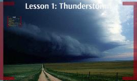 Lesson 1: Thunderstorm!