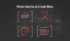 Método Inductivo de Estudio Bíblico