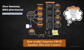 How to I would improve UCWH Trust TDA over 3 years?