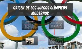 origen de los juegos olmpicos modernos by diego montoto ramos on prezi