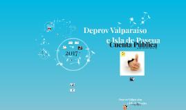 Cuenta Pública Deprov Valparaíso