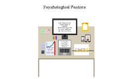 Psychological Factors that affect Drug Abuse