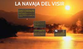 LA NAVAJA DEL VISIR