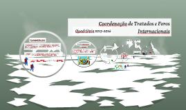 Copy of Coordenação de Tratados e Foros
