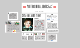 YOUTH CRIMIANL JUSTICE ACT