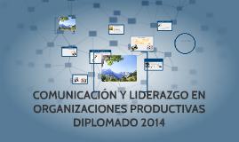 COMUNICACIÓN Y LIDERAZGO EN ORGANIZACIONES PRODUCTIVAS