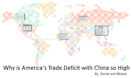 America's trade deficit with China
