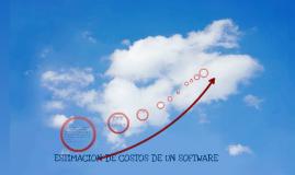 Copy of ESTIMACION DE COSTOS DE SOFTWARE