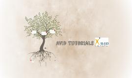 AVID Tutorials