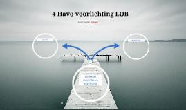 4 Havo voorlichting LOB
