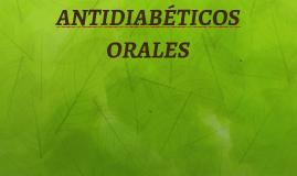 74ANTIDIABÉTICOS ORALES