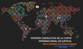 Opinión Consultiva CIJ Caso Kosovo