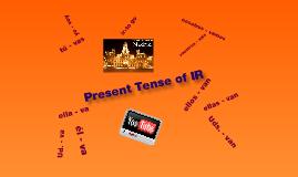 Spn 1 Gramática (conjugating IR)