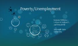 Poverty/Unemployment