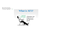 What is AF3? Opening.