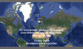 Sagaleden - Crossing Scandinavia sept 2015