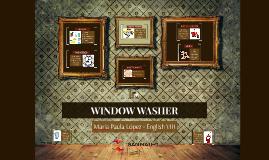 BUSINESS IDEA: WINDOW WASHER