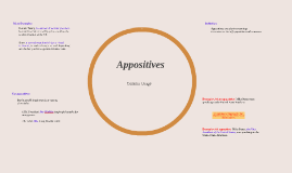 Copy of Appositives