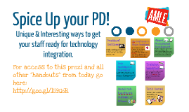 Copy of Spice Up your PD!