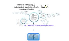 UF0514 Tema 2. Operaciones de encuadernación funcional de documentos