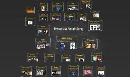 Copy of Copy of Persuasive Vocabulary