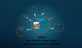 Why are video games bad for children?