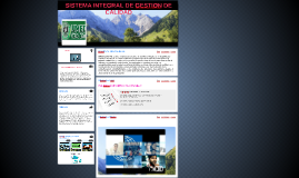 SISTEMA INTEGRAL DE GESTION DE CALIDAD