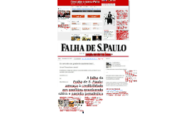 A falha da Folha de S. Paulo: ameaça à credibilidade em conflitos envolvendo sátira e paródia jornalística