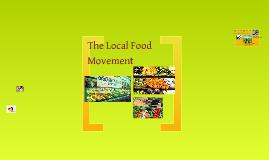 Locally Food Movement - Refutation Speech