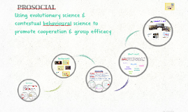 PROSOCIAL: Promoting group cooperation & efficacy