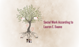 Social Work According to Lauren E. Boone