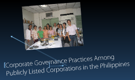 Corporate Governance Practices Among