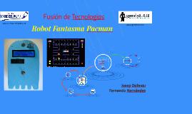Robot Fantasma Pacman