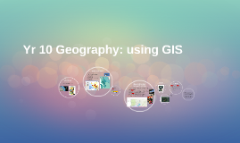 Year 10 Geography Project using GIS