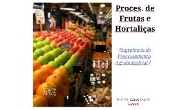 4. Processamento de Frutas e Hortaliças Parte I