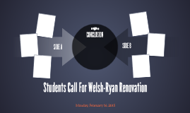 Students Call For Welsh-Ryan Renovation