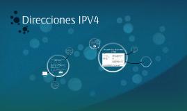 Direcciones IPV4