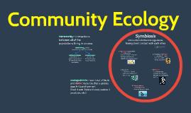 BI 4: Community Ecology