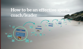 Copy of How to be an effective sports coach/leader