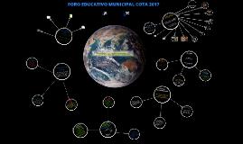 Presentación foro Cota 2017