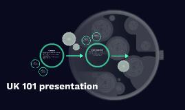 UK 101 presentation