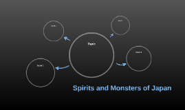 Spirits and Monsters of Japan