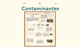 Contaminantes área cultivo