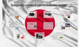 progreso económico de japón tras bombardeos atómicos