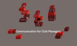 Communication for Club Managers