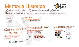 Memoria Histórica -GRMH-