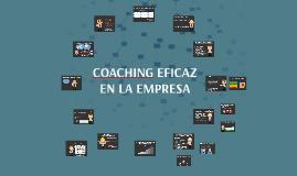 COACHING EFICAZ EN LA EMPRESA