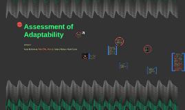 Assessing Adaptability